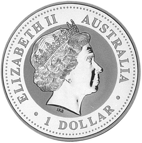 2000 (1999) Australia Dollar obverse
