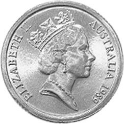 Australia 2 Dollars obverse