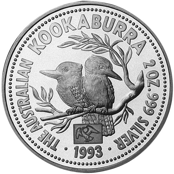 1993-1994 Australia 2 Dollars reverse