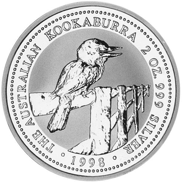 1997-1998 (1997) Australia 2 Dollars reverse