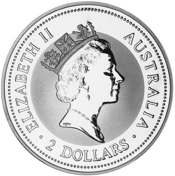 1997-1998 (1997) Australia 2 Dollars obverse