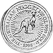 1994-1995 Australia 5 Dollars reverse