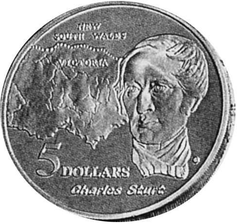 1994 Australia 5 Dollars reverse