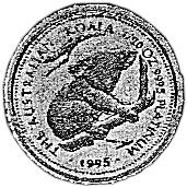 1995-1996 Australia 5 Dollars reverse