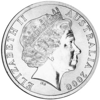 Australia 5 Dollars obverse