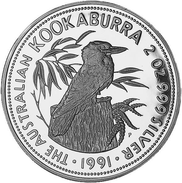 1991-1993 Australia 10 Dollars reverse