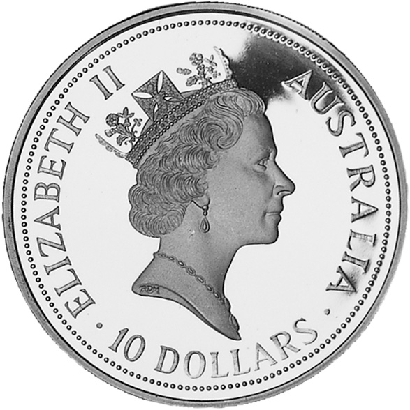 how to know the value of australian coin
