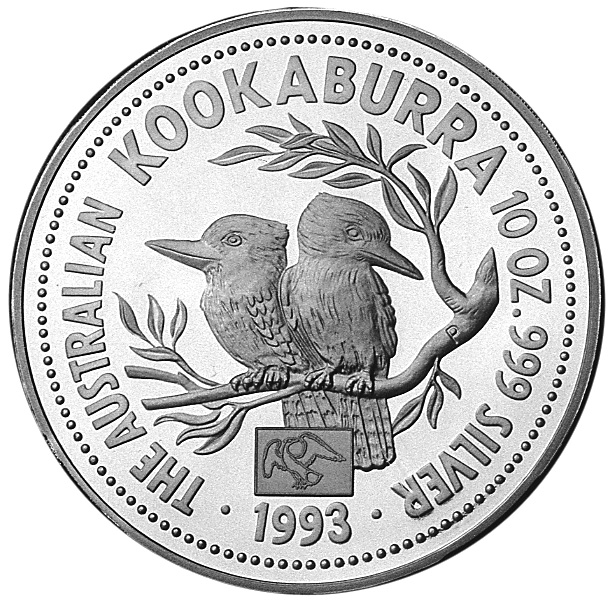 1993-1994 Australia 10 Dollars reverse