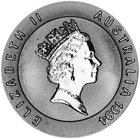 1994 Australia 10 Dollars obverse