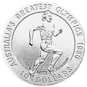 1996 Australia 10 Dollars reverse