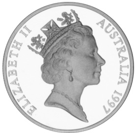 1997 Australia 10 Dollars obverse