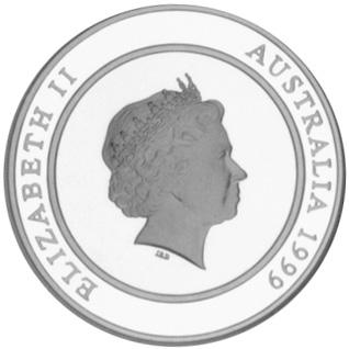1999 Australia 10 Dollars obverse