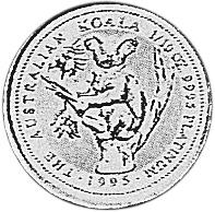 1994-1995 Australia 15 Dollars reverse