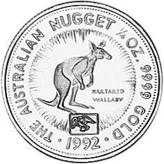 1992 Australia 25 Dollars reverse