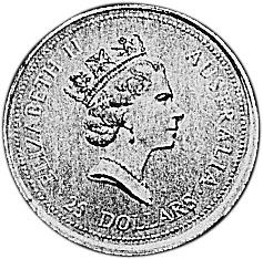 1994 Australia 25 Dollars obverse