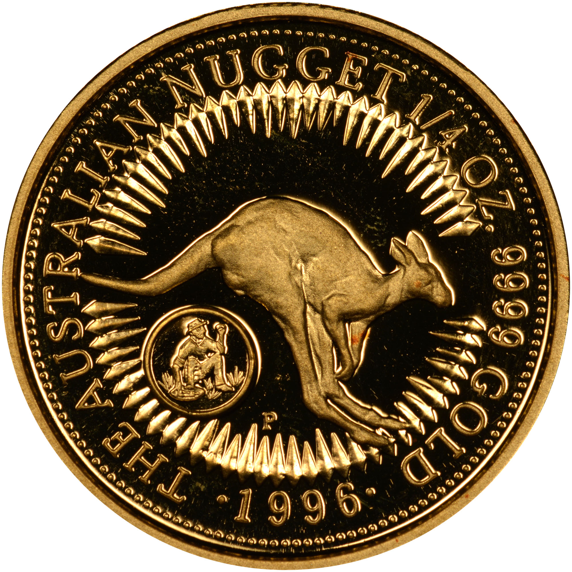 1996 Australia 25 Dollars reverse