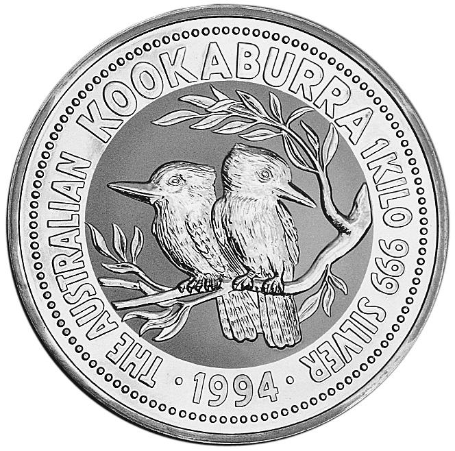 1994 Australia 30 Dollars reverse
