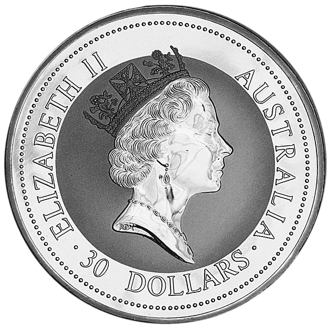 1994 Australia 30 Dollars obverse