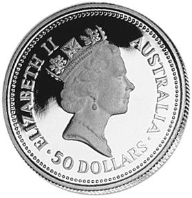 1988-1989 Australia 50 Dollars obverse
