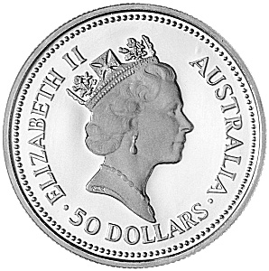 1990-1991 Australia 50 Dollars obverse