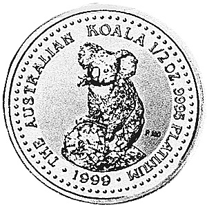 1999 Australia 50 Dollars reverse