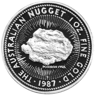 1987 Australia 100 Dollars reverse