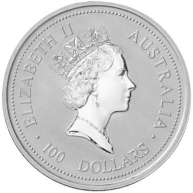 1997 Australia 100 Dollars obverse