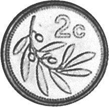 Malta 2 Cents reverse