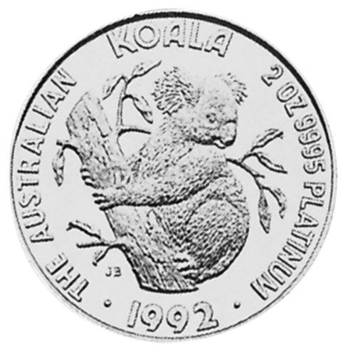 1992-1996 Australia 200 Dollars reverse