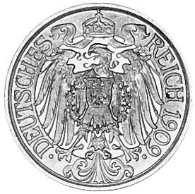 Germany - Empire 25 Pfennig obverse