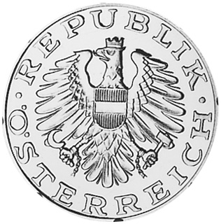 Austria 10 Schilling obverse