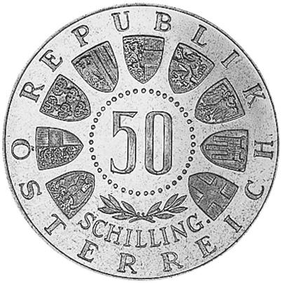 Austria 50 Schilling obverse