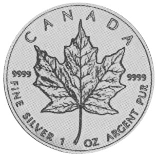 Canada 5 Dollars reverse
