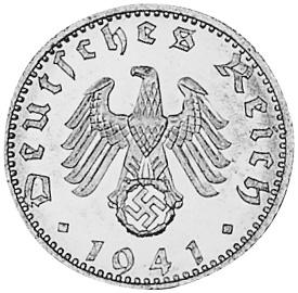 Germany - Third Reich 50 Reichspfennig obverse