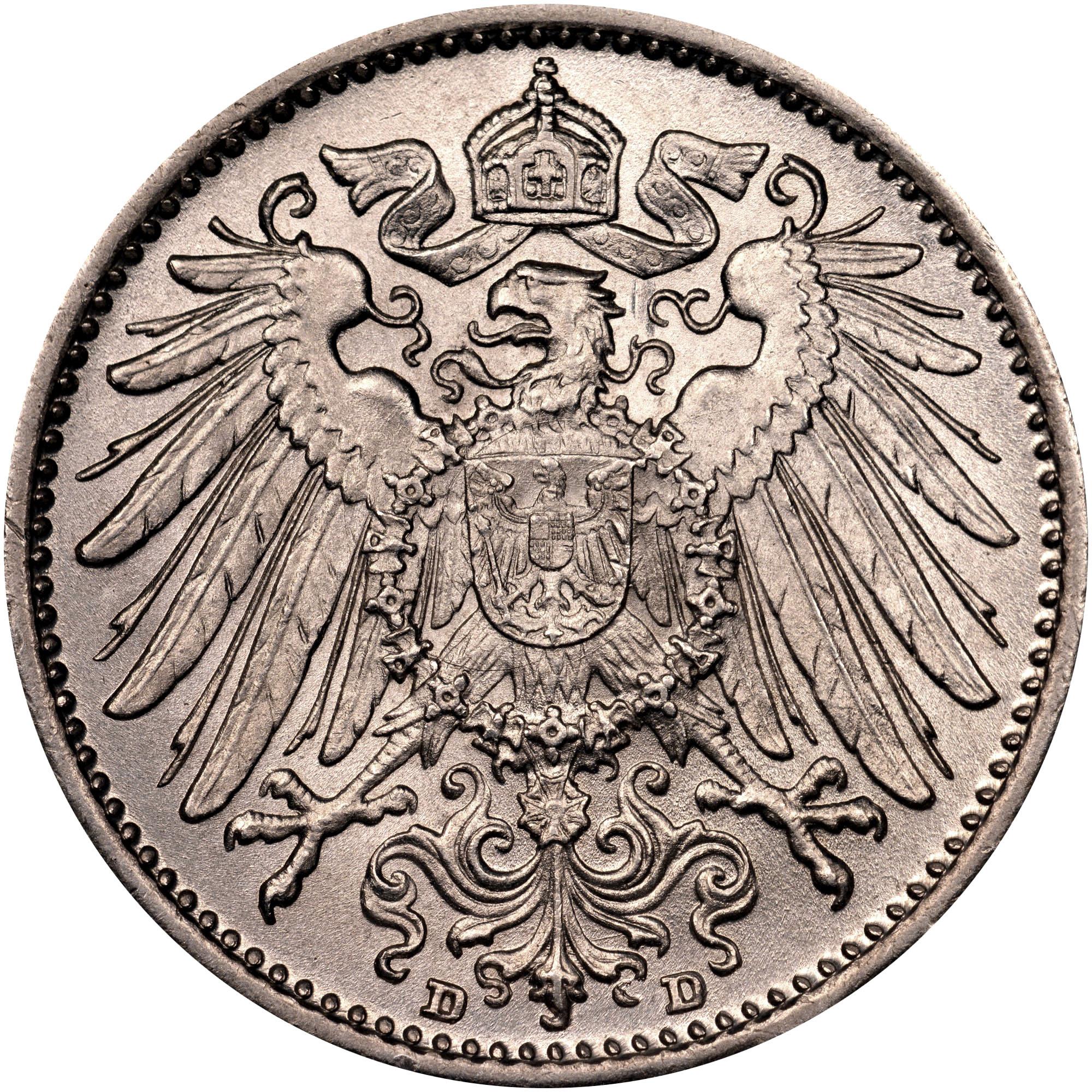 Germany - Empire Mark reverse