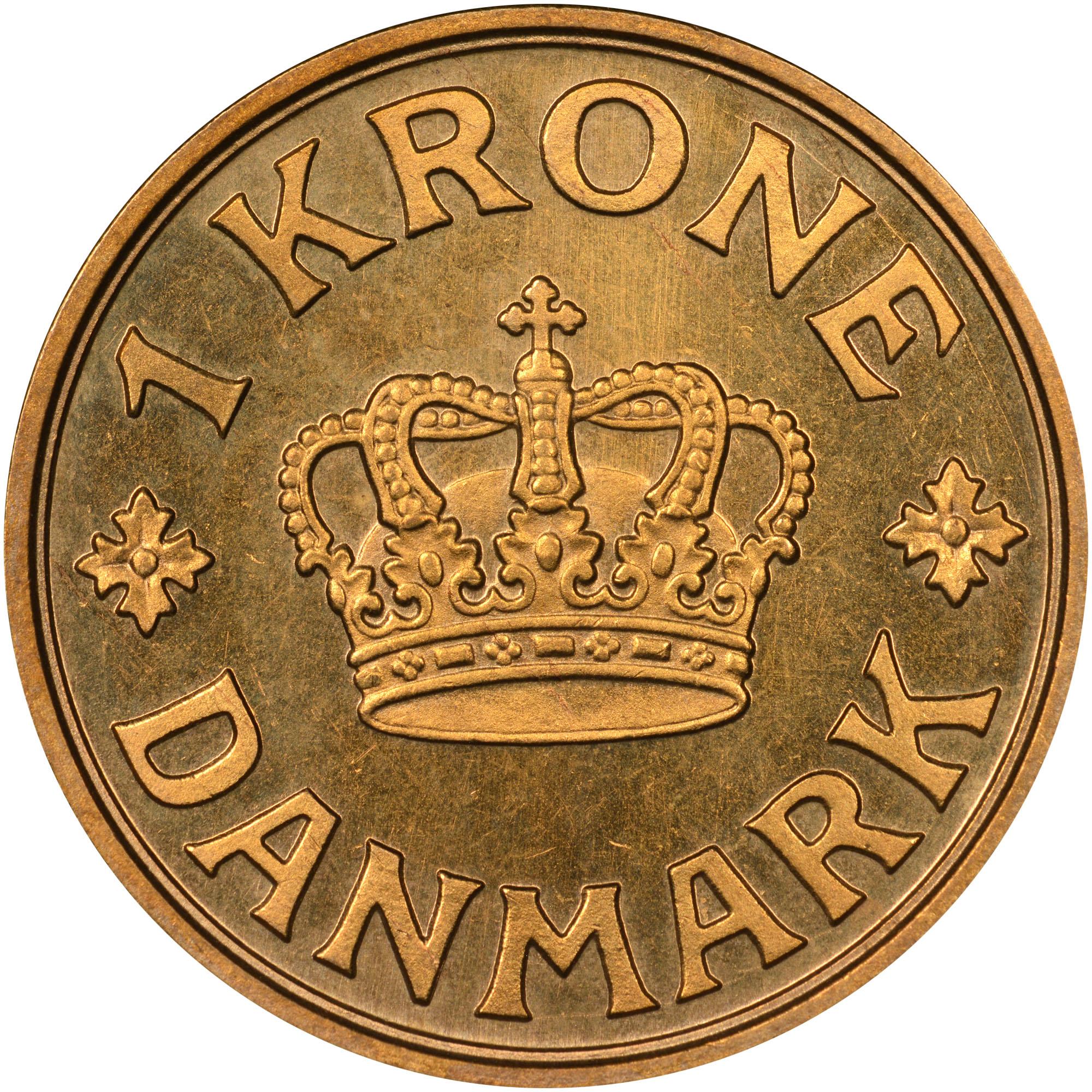 1929-1941 Denmark Krone reverse