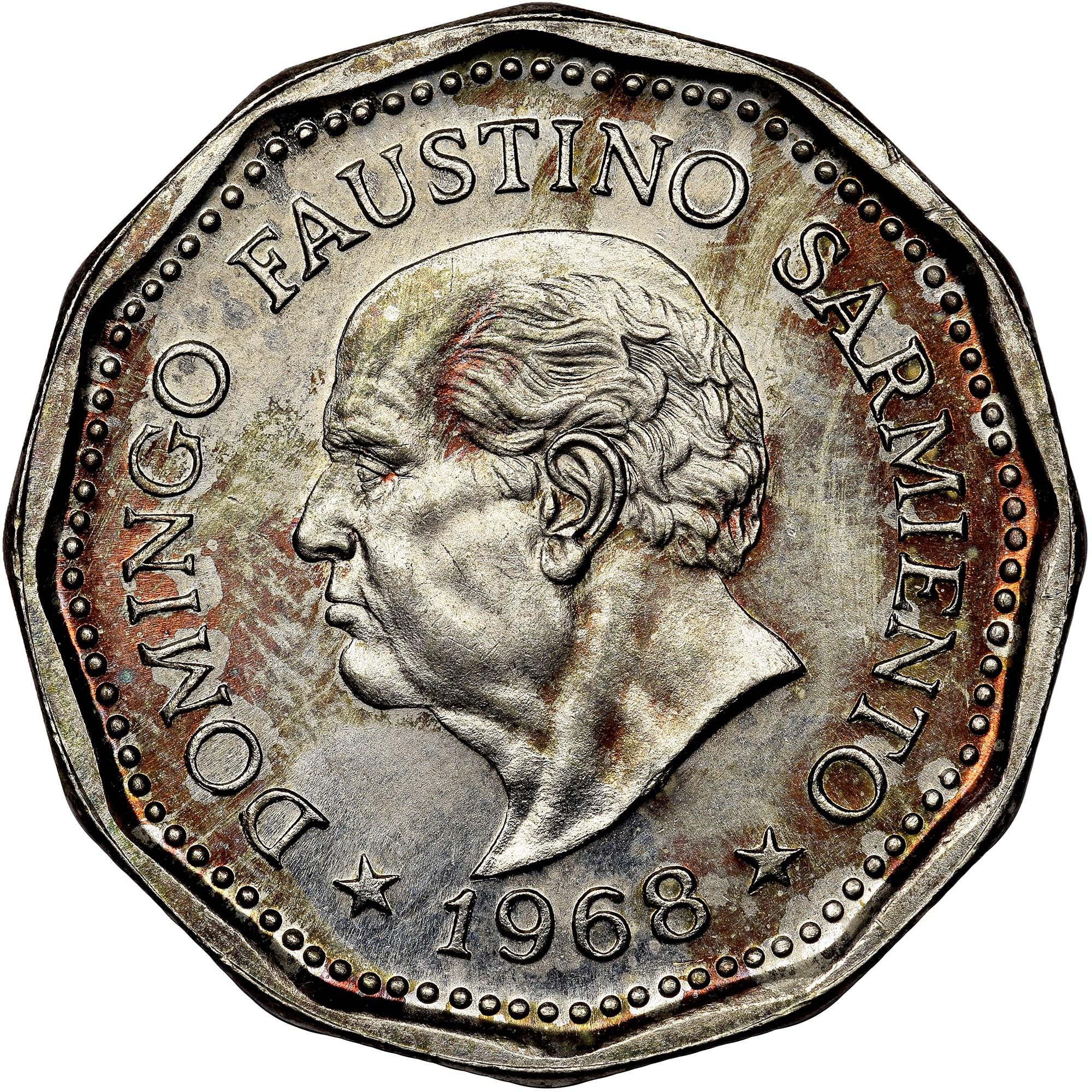 Argentina 25 Pesos reverse