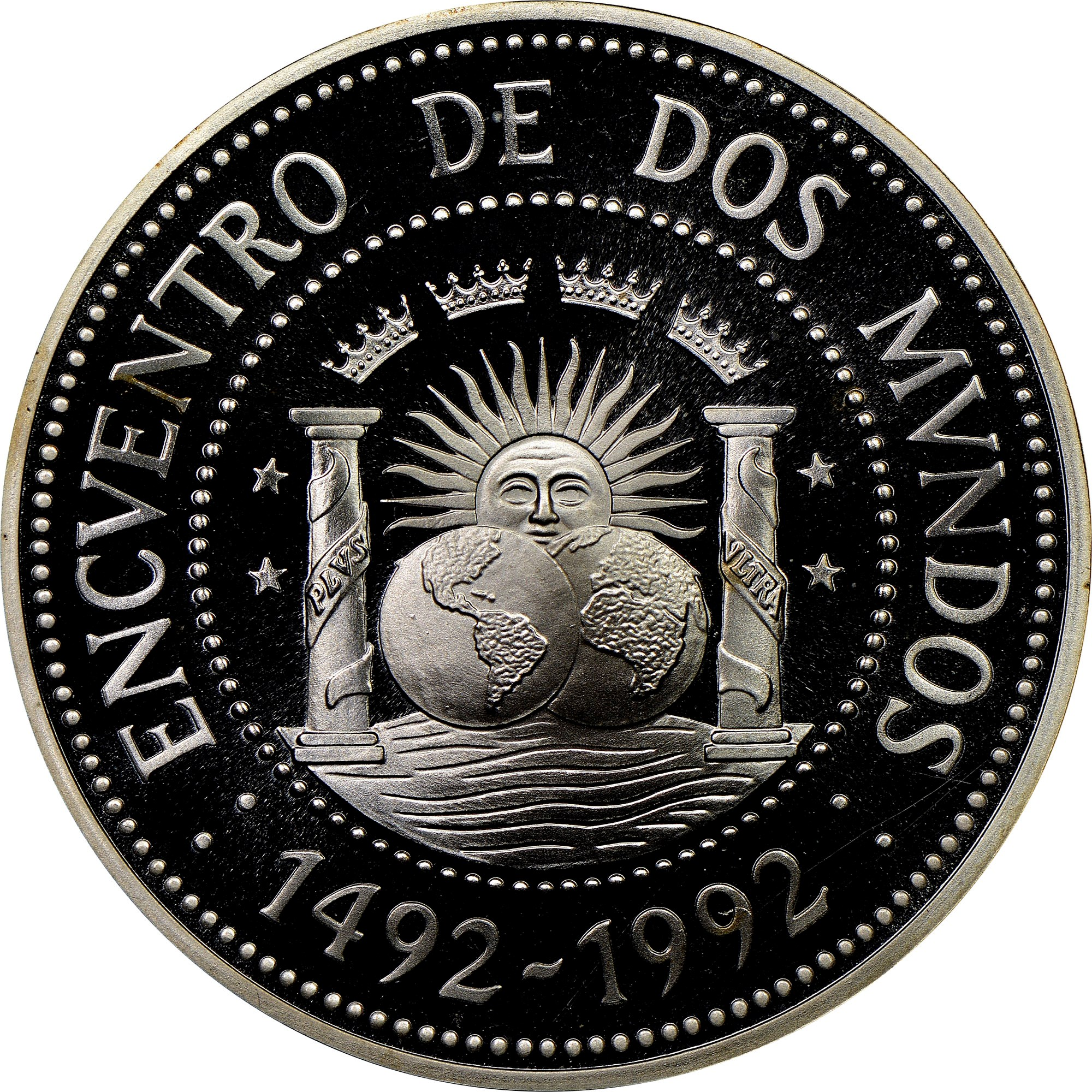 Argentina 1000 Australes reverse
