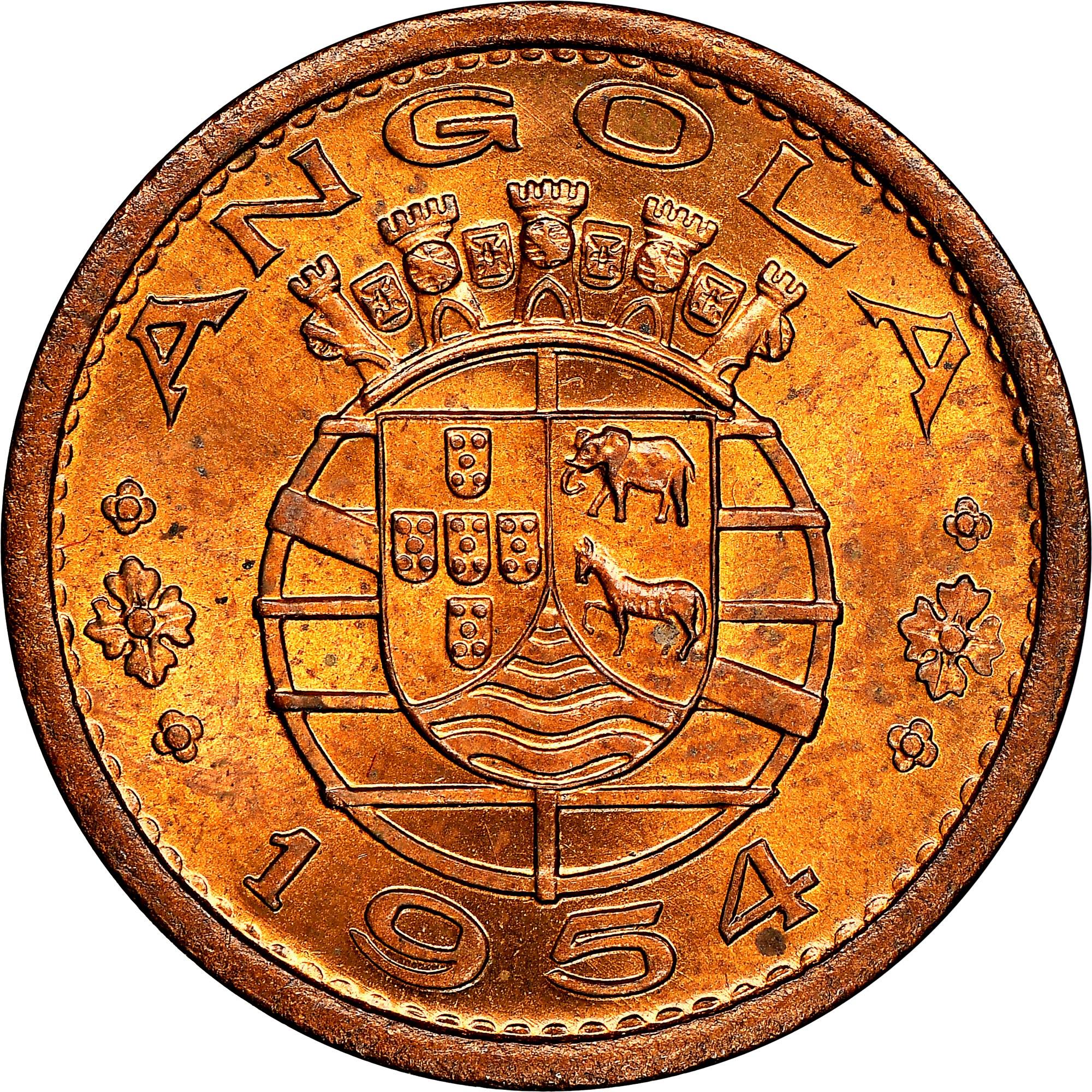 Angola 50 Centavos reverse