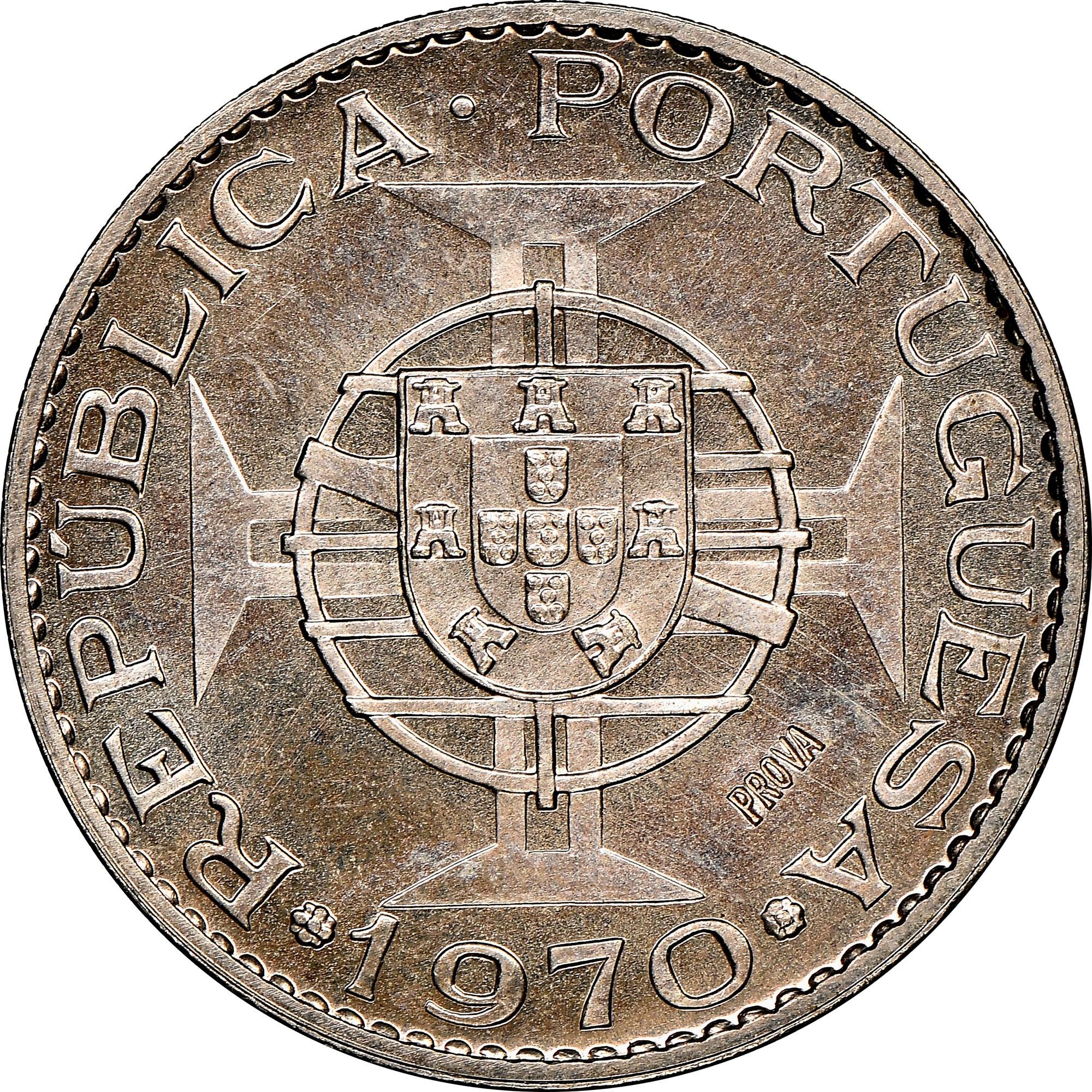 Angola 10 Escudos obverse