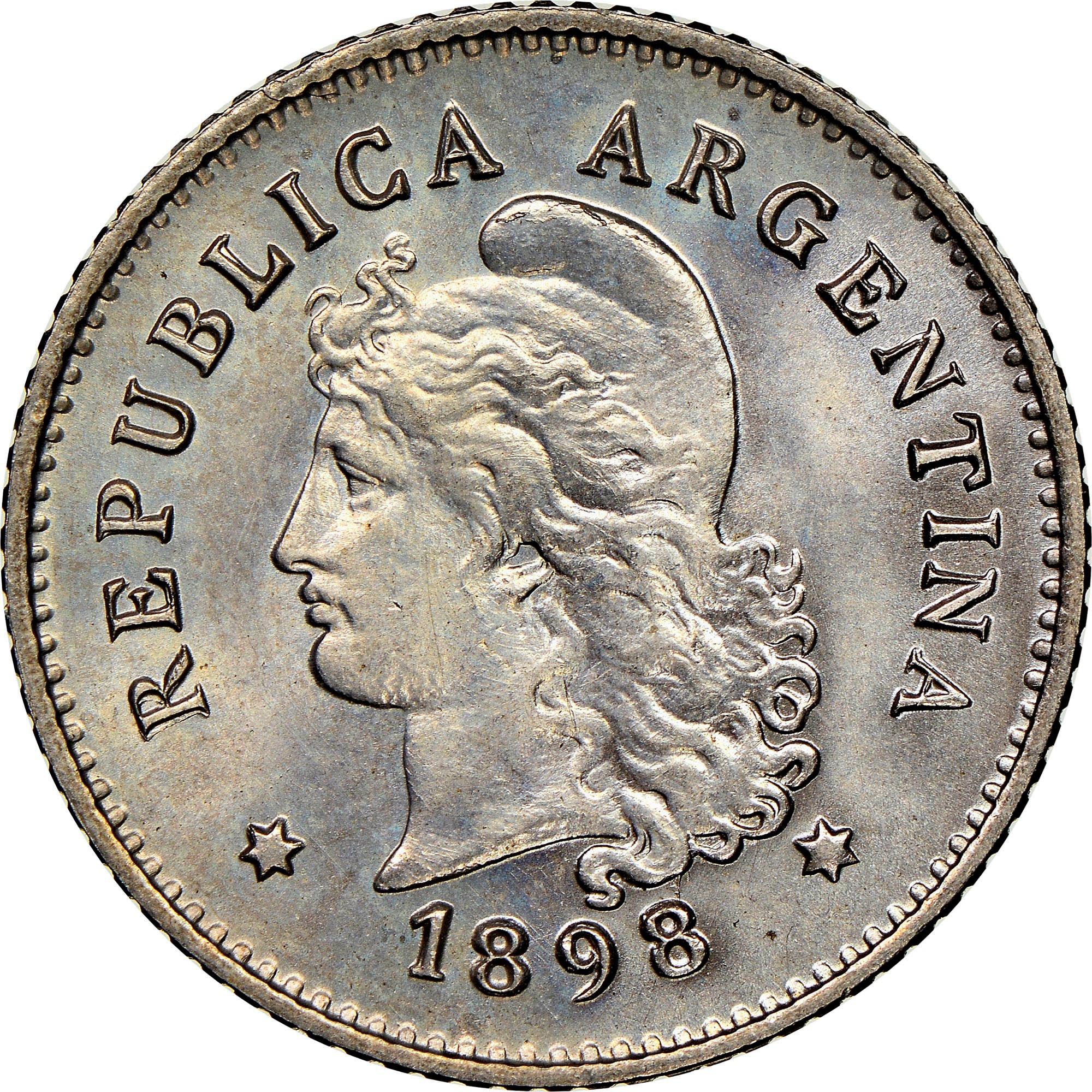 Argentina 10 Centavos obverse