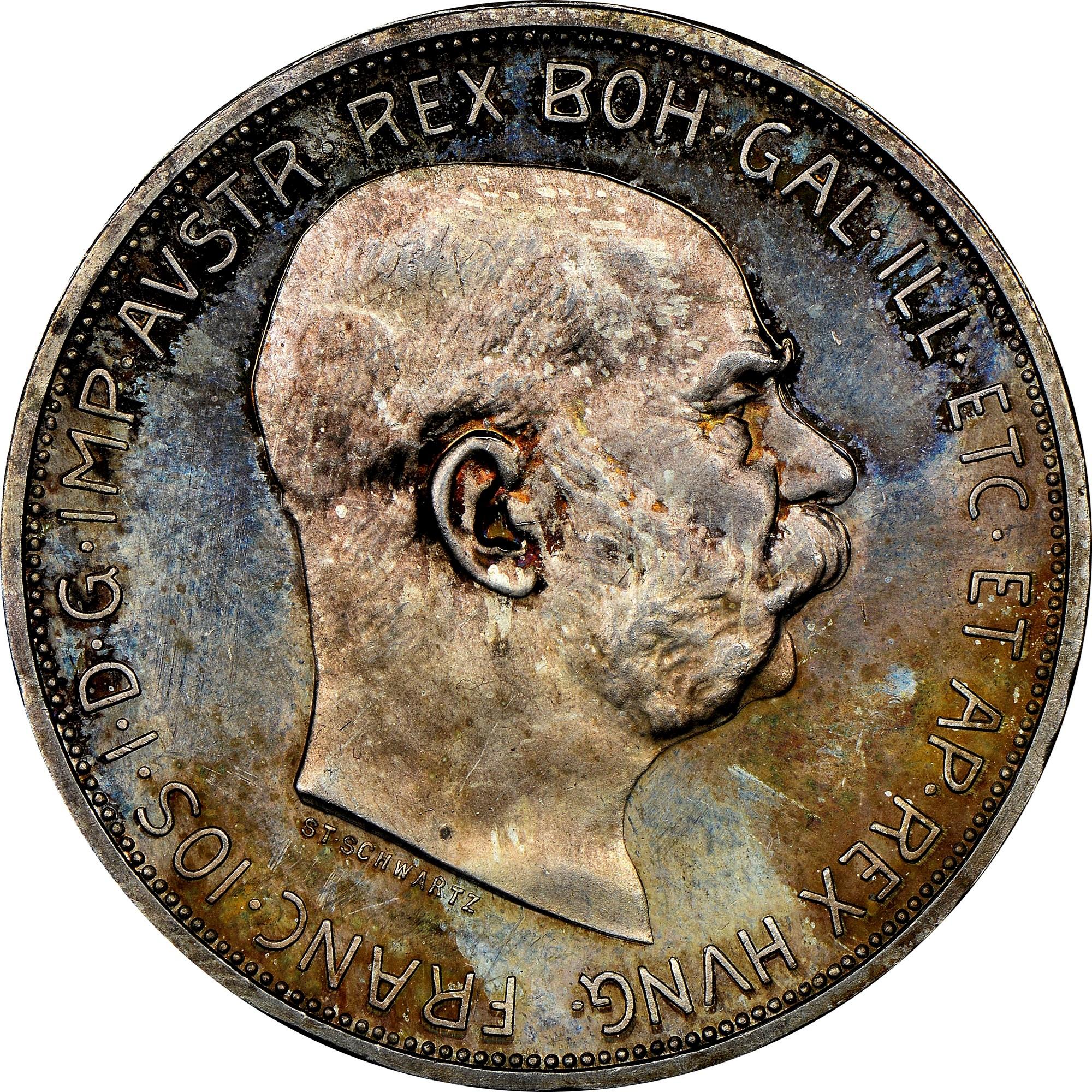 Austria 5 Corona obverse