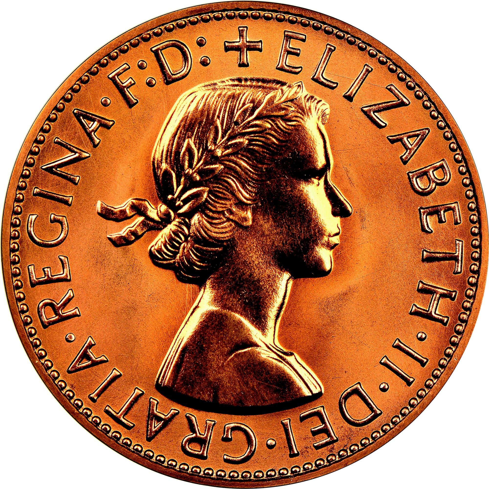Australia Penny obverse