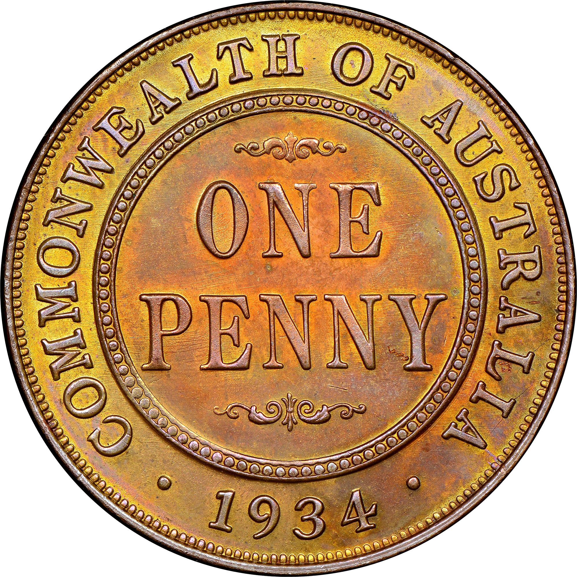 Australia Penny KM 23 Prices & Values | NGC