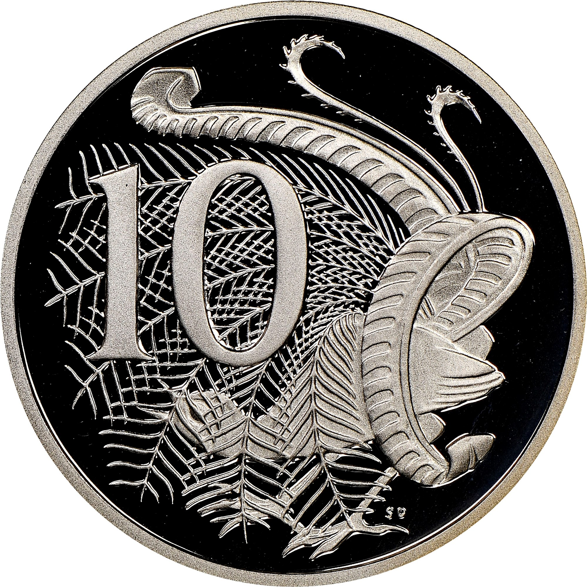 Australia 10 Cents reverse