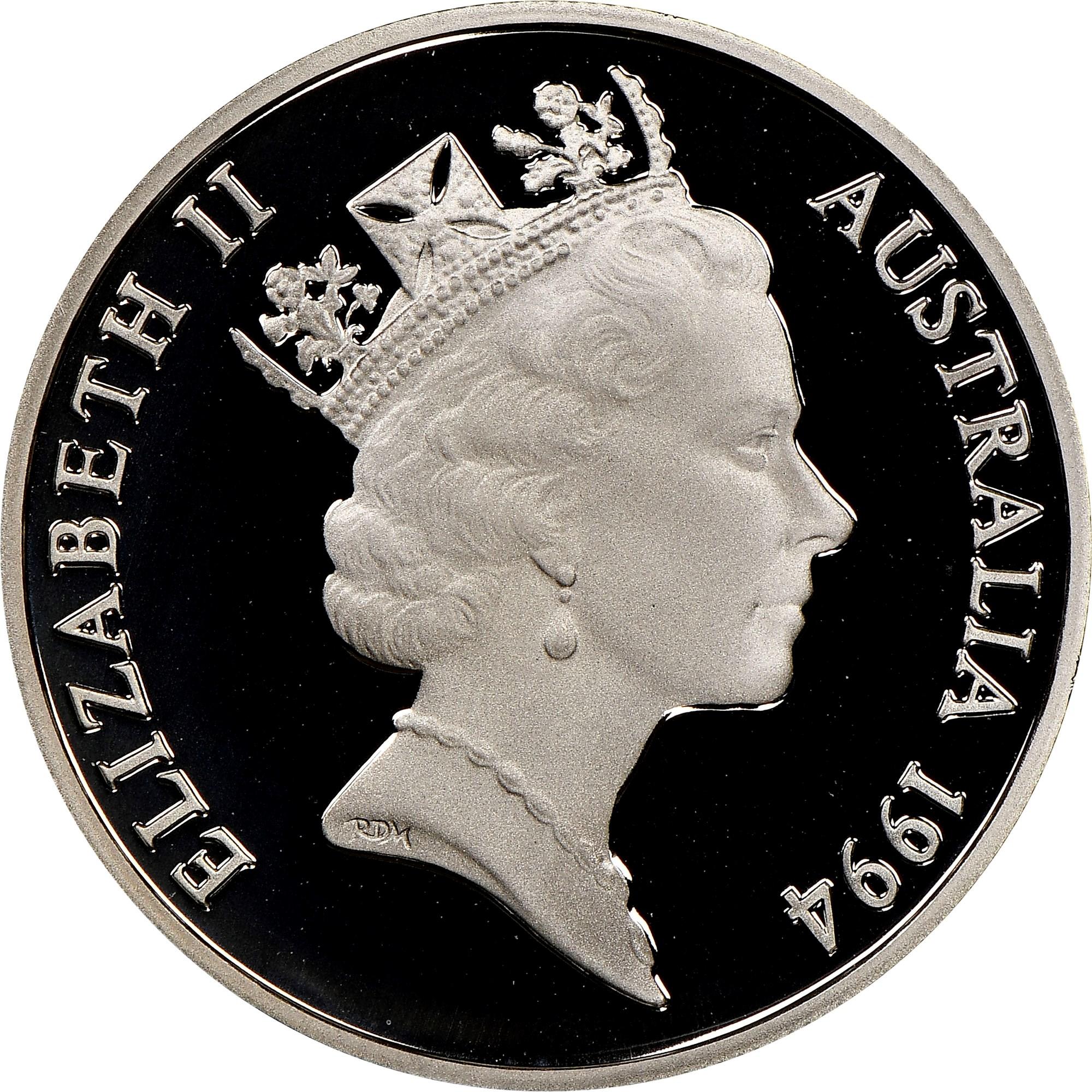 Australia 10 Cents obverse