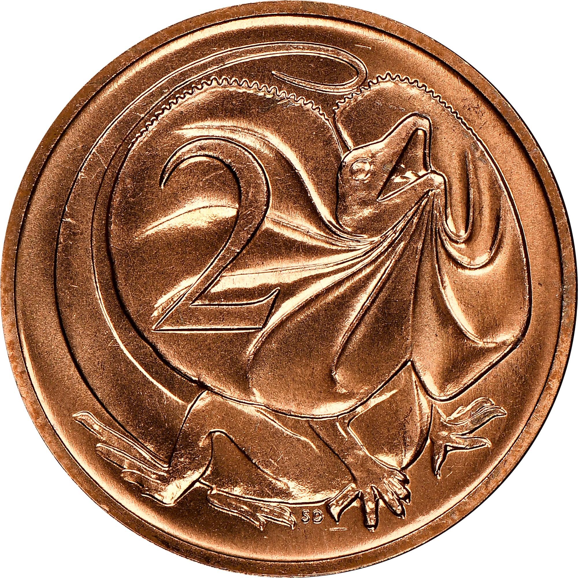 Australia 2 Cents reverse