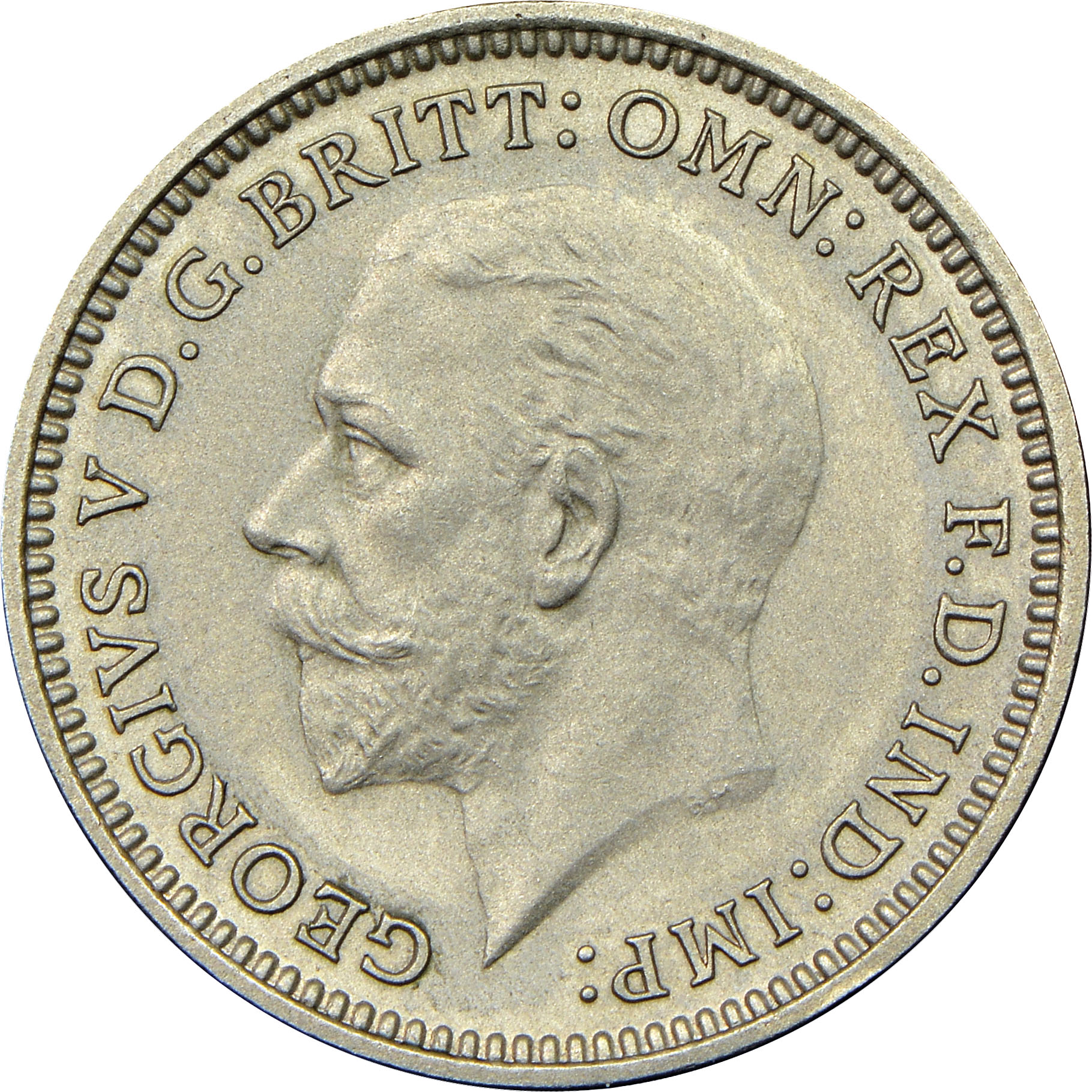 Coin Chart: 1927-1936 Great Britain 3 Pence KM 831 Prices & Values