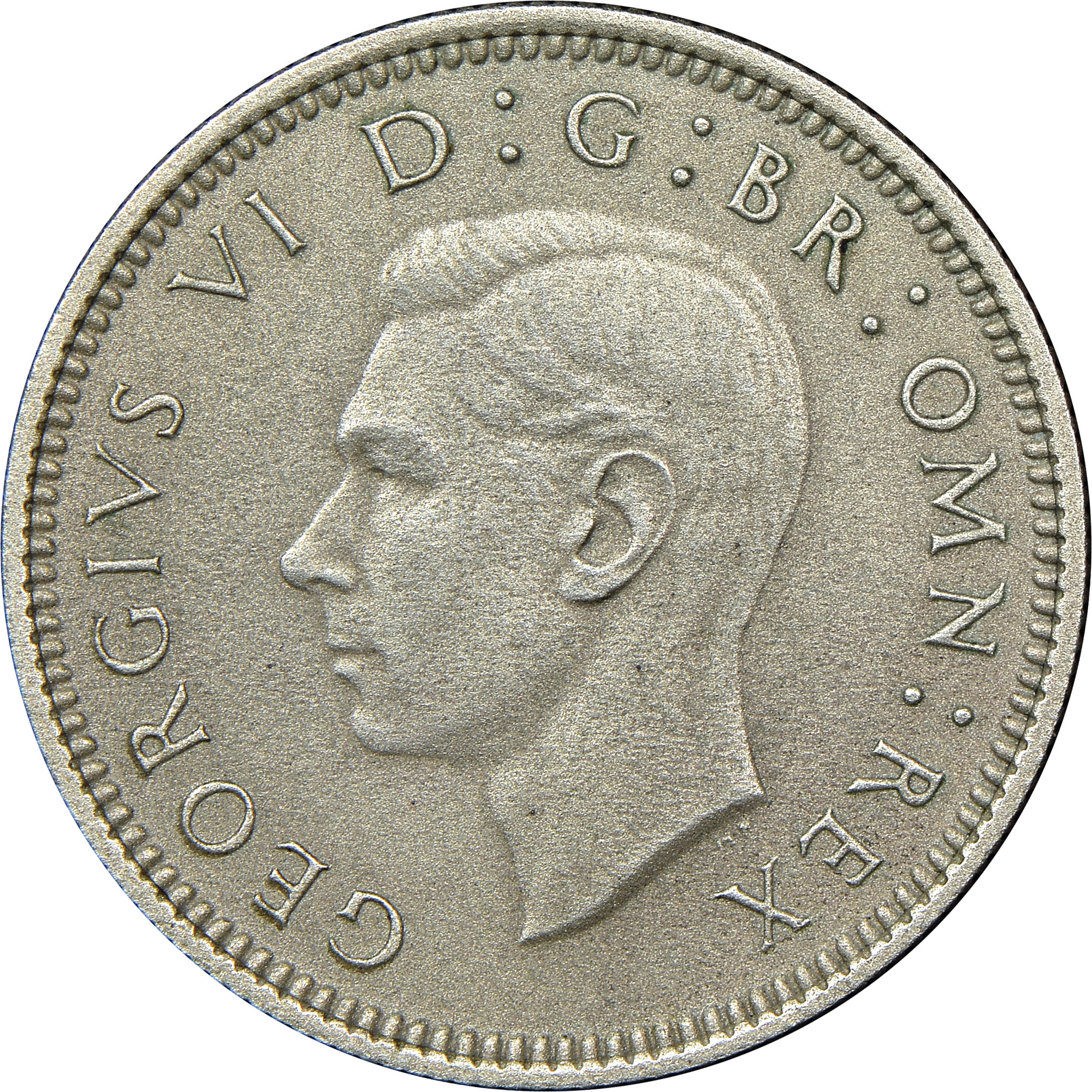 6 pence coin value