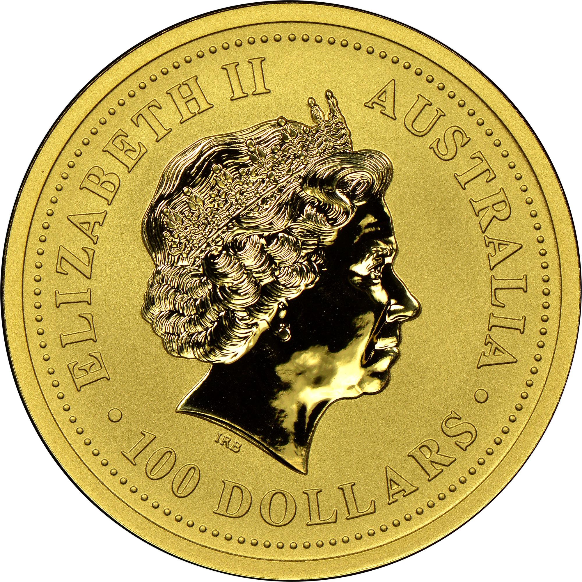 1999 Australia 100 Dollars obverse